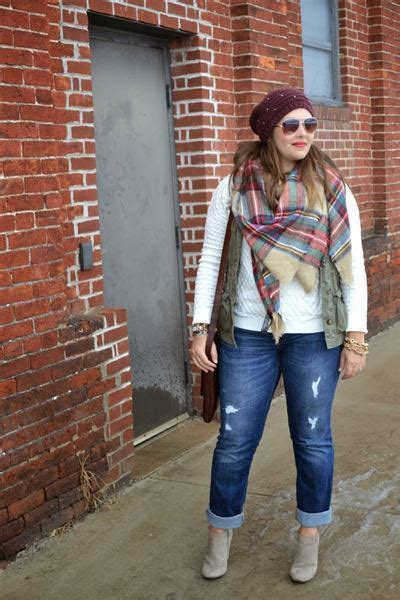 25 Stunning Fall/Winter Outfits Ideas For Plus Size Ladies