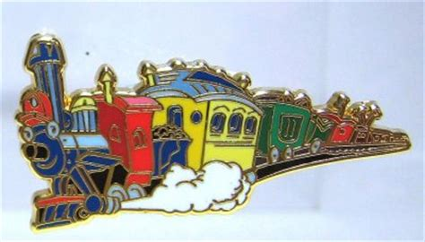 Casey Jnr train pin from our Pins collection   Disney