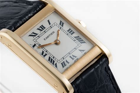 Cartier Tank Normale Watches | ref Vintage | Yellow Gold
