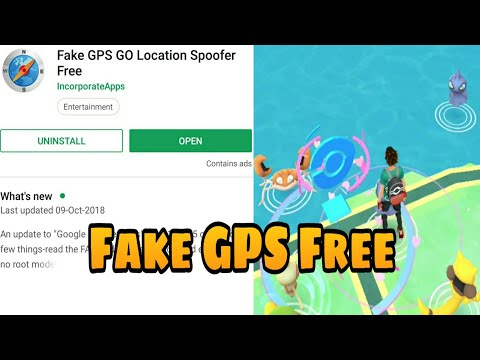 Play Pokemon Go Without Moving: Using Fake GPS Apps on