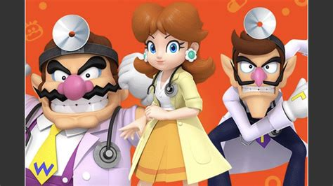 Wario, Waluigi, and Daisy added to Dr
