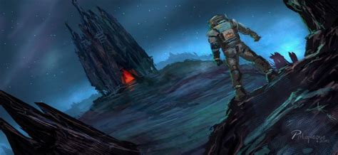 39 Concept Art and Illustrations of Astronauts   Concept