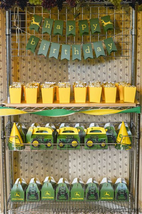 John Deere Birthday Party Ideas for a 3 Year Old