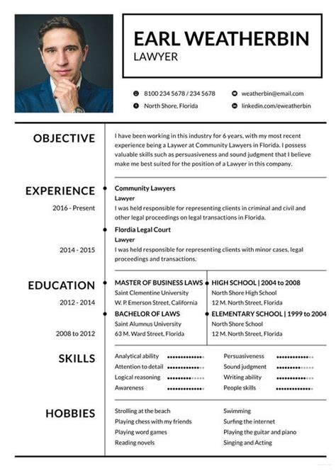 8+ Lawyer Resume Templates - DOC, Excel, PDF | Free