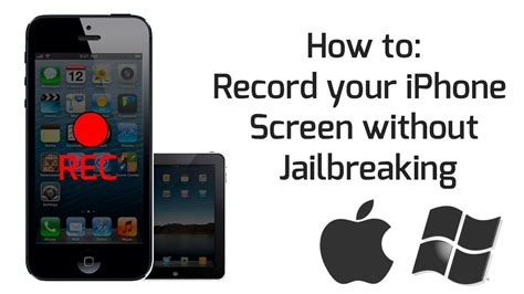 How to: Record your iPhone/iPad Screen without