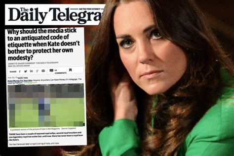 Now Kate Middleton bare bottom picture is published by
