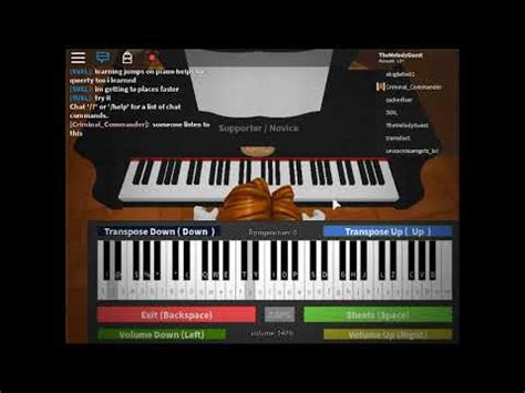Noisestorm - Crab Rave on a Roblox Piano - YouTube