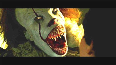 Pennywise Showing Teeth Compilation IT (2017) - YouTube