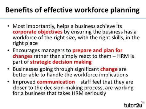 Introduction to Workforce Planning