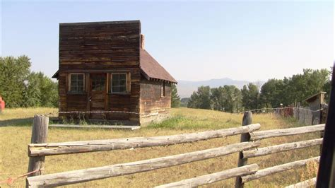 On the Old Stage Road & Stagecoach Station near Gold Creek