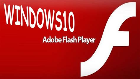 Windows 10 How to Download & Install Adobe Flash Player