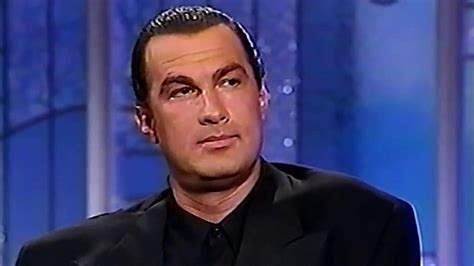 What STEVEN SEAGAL says about VAN DAMME and other action