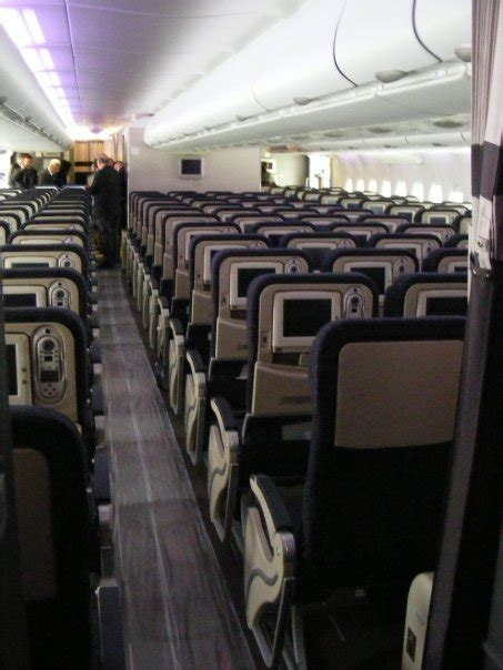 business flight: air france a380 cabin interior pictures