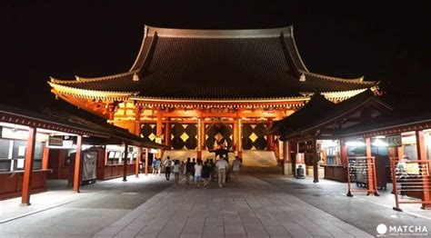 Sensoji By Night - Experience The Famous Temple In A