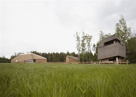 Sweden bird hide (With images) | Visitor center, Thatched