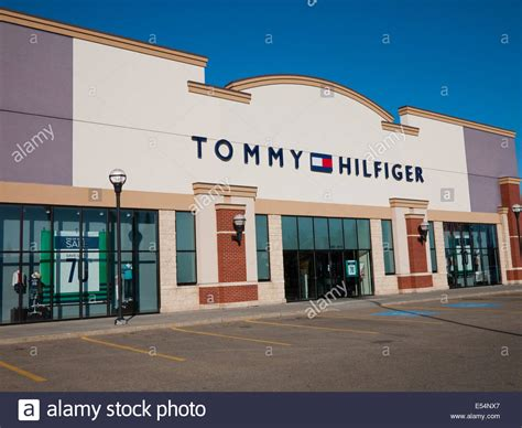 A Tommy Hilfiger factory outlet store at South Edmonton