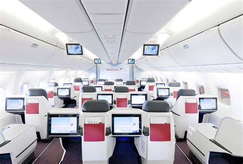 The new Austrian Airlines Business Class seat debuts on