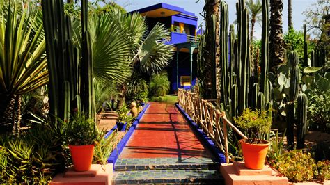 Discover Yves Saint Laurent's Marrakesh   Travel   The Times