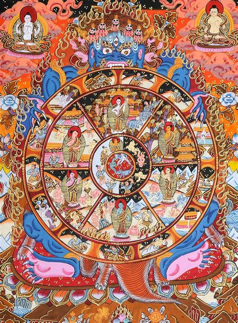 The Wheel of Life : A Graphical Explanation : Buddhism