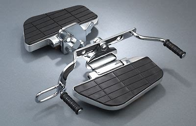 MeanCycles   FLOORBOARDS WITH HEEL-TOE SHIFTER HONDA VT750