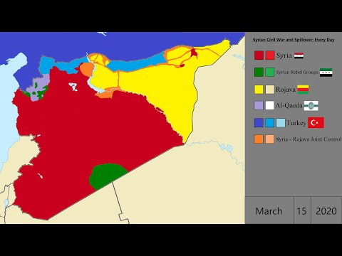 A Map Of The Coming War: Who Is Who (And Where) In Syria