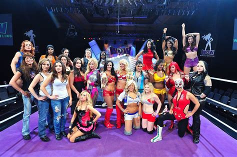 The1stMovement Pins WOW -Women Of Wrestling