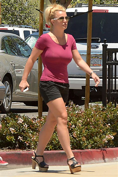 Britney Spears - Shopping at Target in Thousand Oaks, July