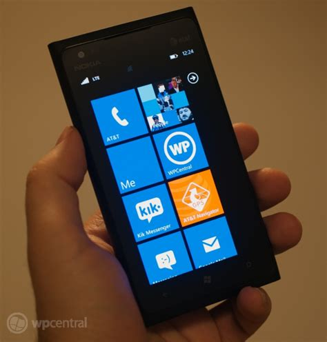 WPCentral's Nokia Lumia 900 review - call it the HTC One X