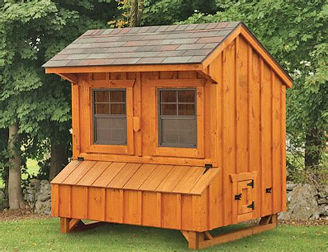 Quaker Style 4x6 High Side Chicken Coops in Lancaster PA