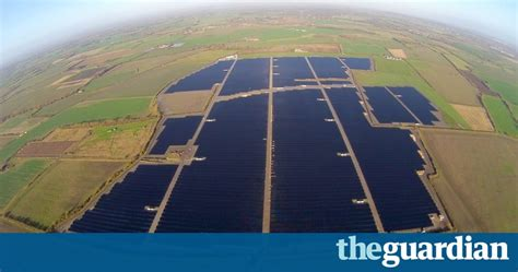 UK's biggest solar farm connects to national grid