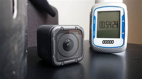 GoPro Session 5 Battery Life Test - recording in 4k - YouTube