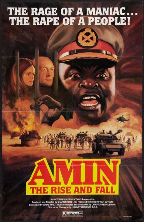 Rise and Fall of Idi Amin Movie Posters From Movie Poster Shop