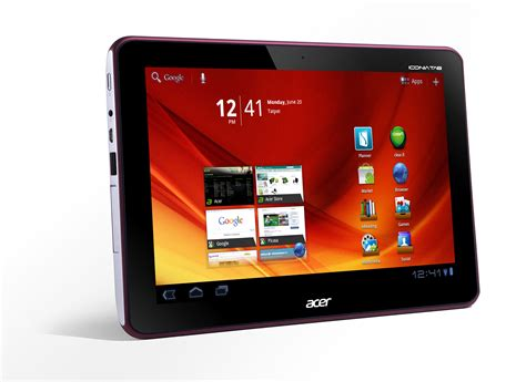 Iconia: Android-Tablets von Acer
