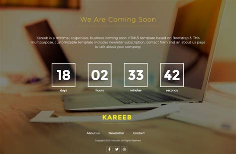 30+ Best Coming Soon Page Templates For Inspiration