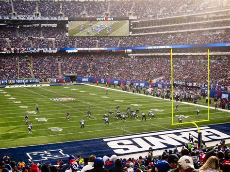 MetLife Stadium, section 104, home of New York Jets, New