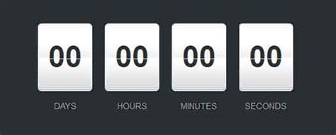 25+ Best Free jQuery Countdown Timer Scripts