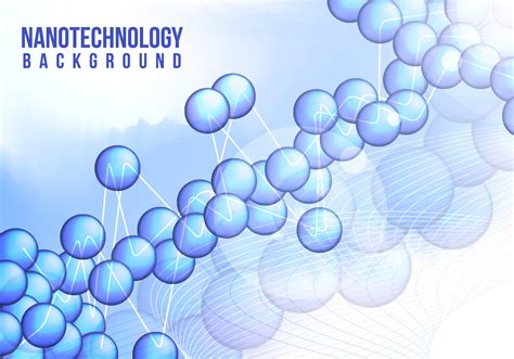 Nanotechnology Background Vector Free - Download Free