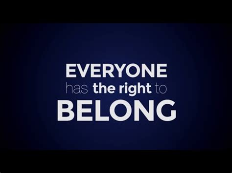I BELONG: End Statelessness Now - YouTube