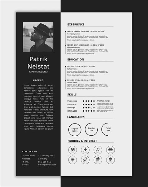 Good Resume Templates (15 Examples to Download & Use Right