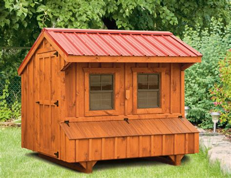 Quaker Style 5x8 Chicken Coops in Lancaster PA | Chicken