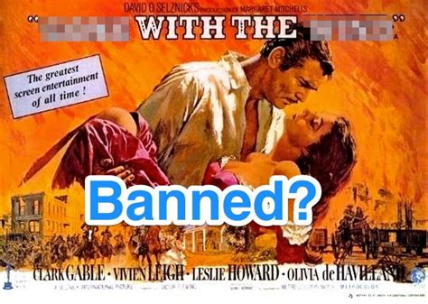 Frankly, Scarlett, I Don't Give a Ban