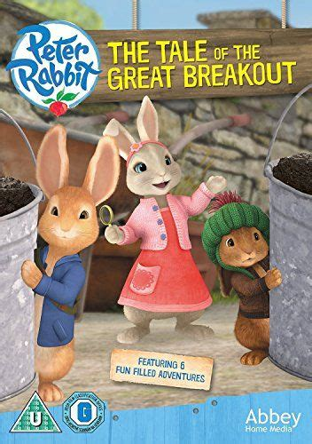 Peter Rabbit - The Tale Of The Great Break Out - WITH FREE