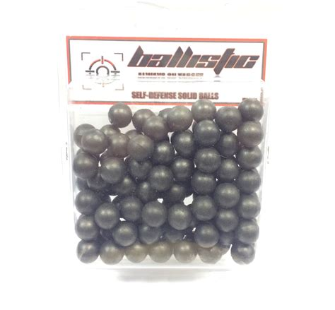 BALLISTIC SELF DEFENCE SOLID BALLS 100 PACK | Blades and