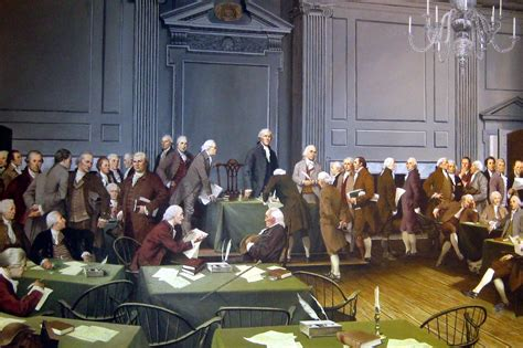 Philadelphia - Old City: Independence Hall - The Signing o