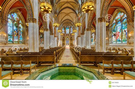 The Cathedral Of Saint Helena Stock Image - Image of