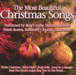 The Most Beautiful Christmas Songs [Benz-Street] - Various