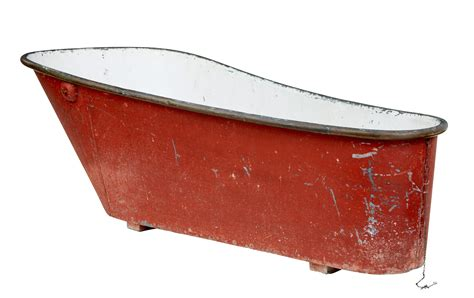 LATE 19TH CENTURY PAINTED COPPER AND TIN BATH TUB   eBay