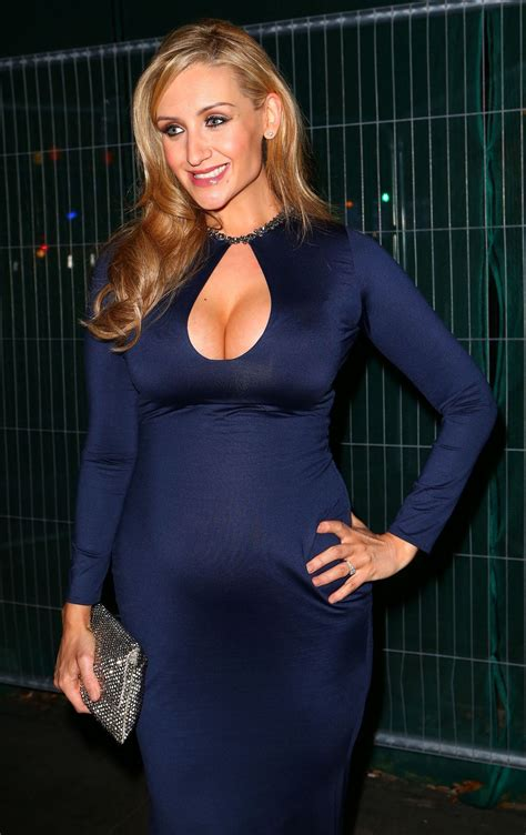 Catherine Tyldesley - Pregnant at 2014 RTS North West