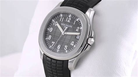 Pre-Owned Patek Philippe Aquanaut 5167A-001 - YouTube