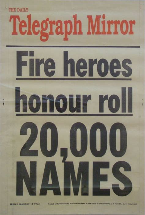 1994 Fires - NSW RFS OUR STORY
